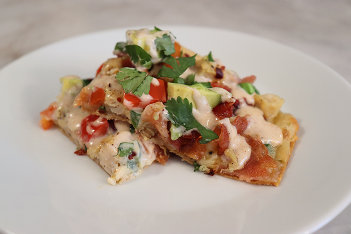Baja Chicken Flatbread